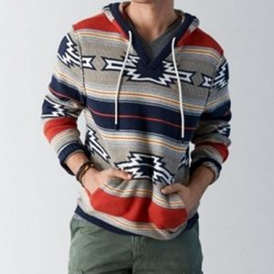 American Eagle Outfitters Baja Hooded Sweater